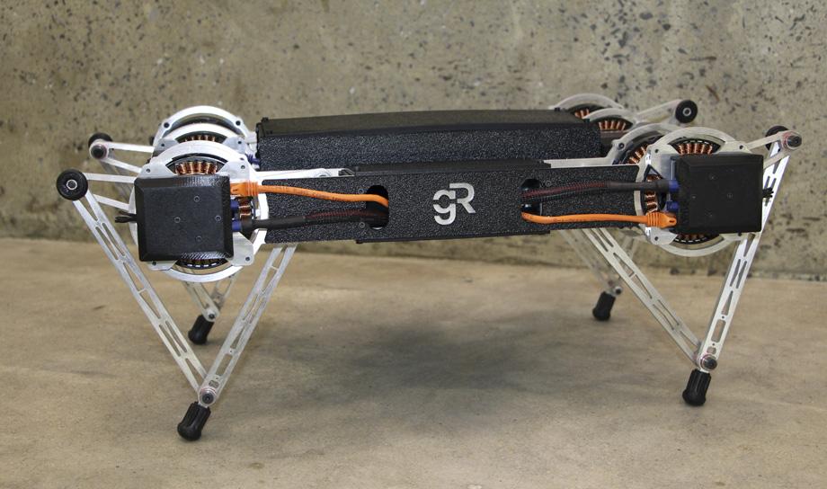 Ghost Minitaur — искусный четвероногий робот