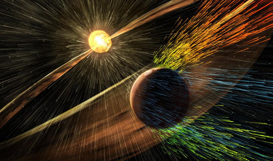Ученые NASA указали на основную причину потери атмосферы на Марсе