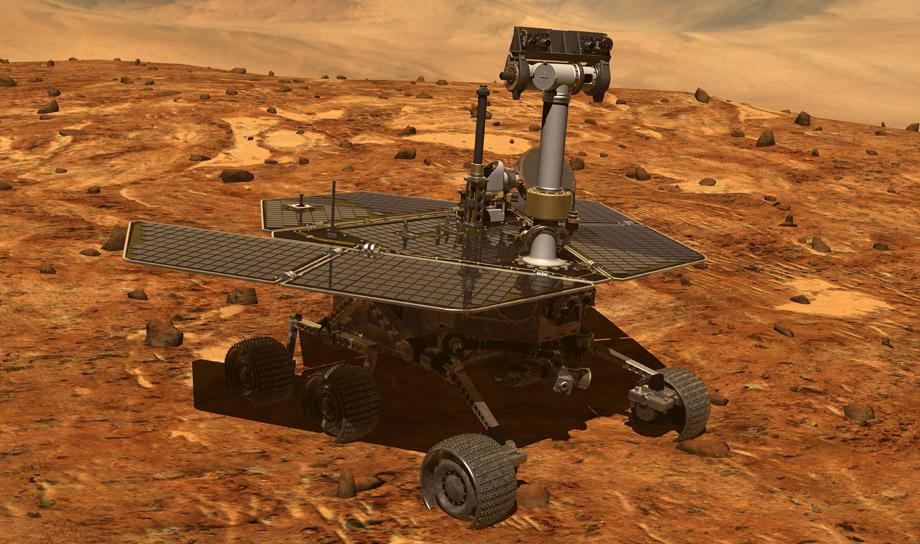 12 год жизни и работы на Марсе отпраздновал марсоход Opportunity