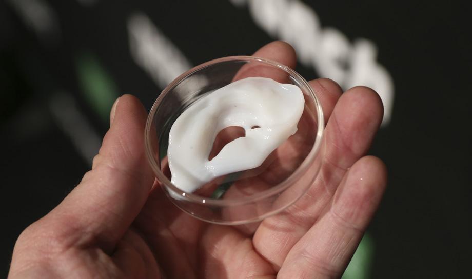 Американские учёные создали 3D-принтер для печати тканей и органов из гидрогеля