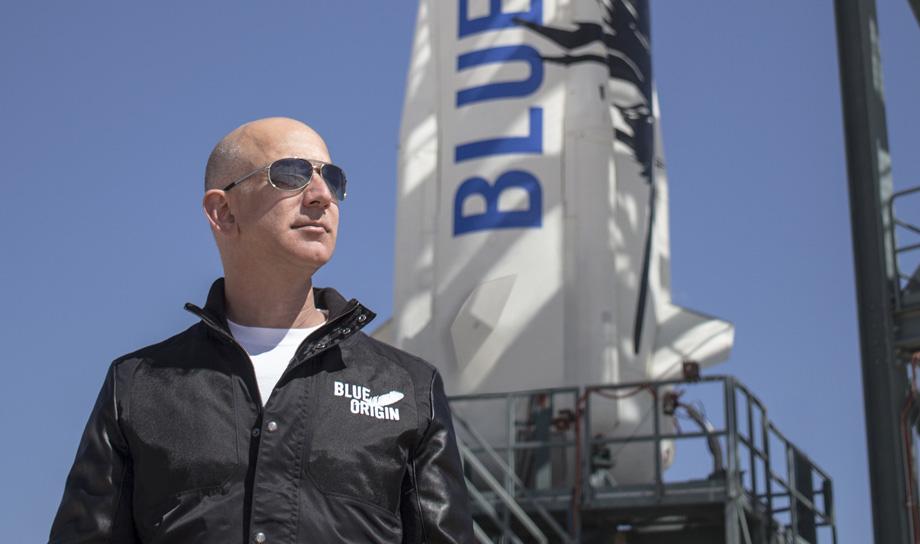 Джефф Безос о предстоящем космическом туризме на ракетах New Shepard