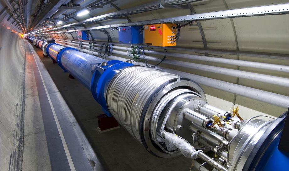 Машина времени — Большой андронный коллайдер!