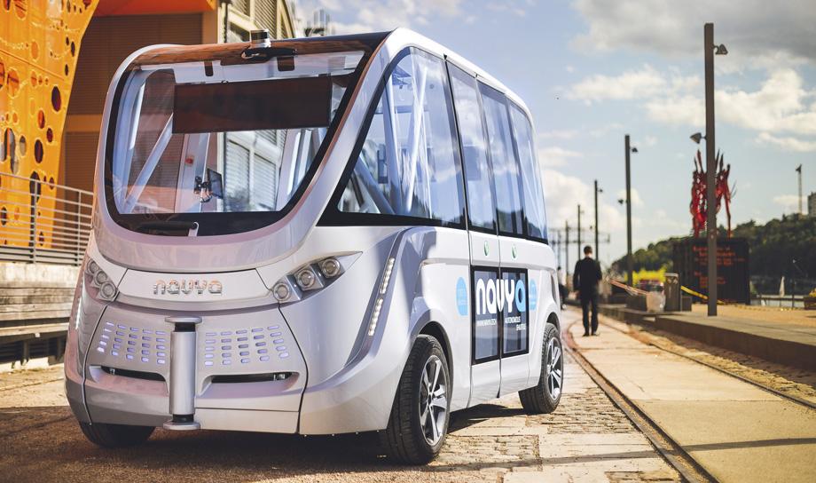 Общественный транспорт Беверли-Хиллз пополнится беспилотными автомобилями