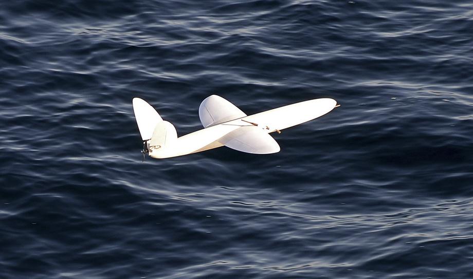 Беспилотный самолёт, созданный при помощи 3D-технологии, работает в Антарктике
