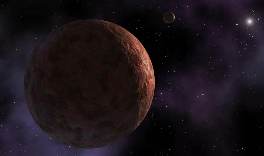 Новая карликовая планета Солнечной системы
