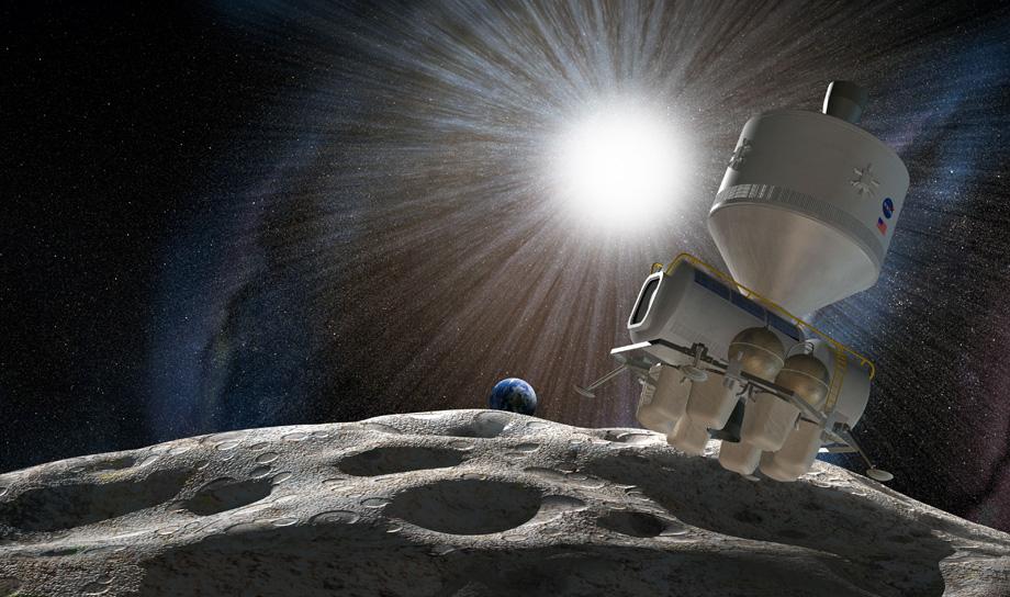 Люксембург будет добывать драгметаллы на астероидах