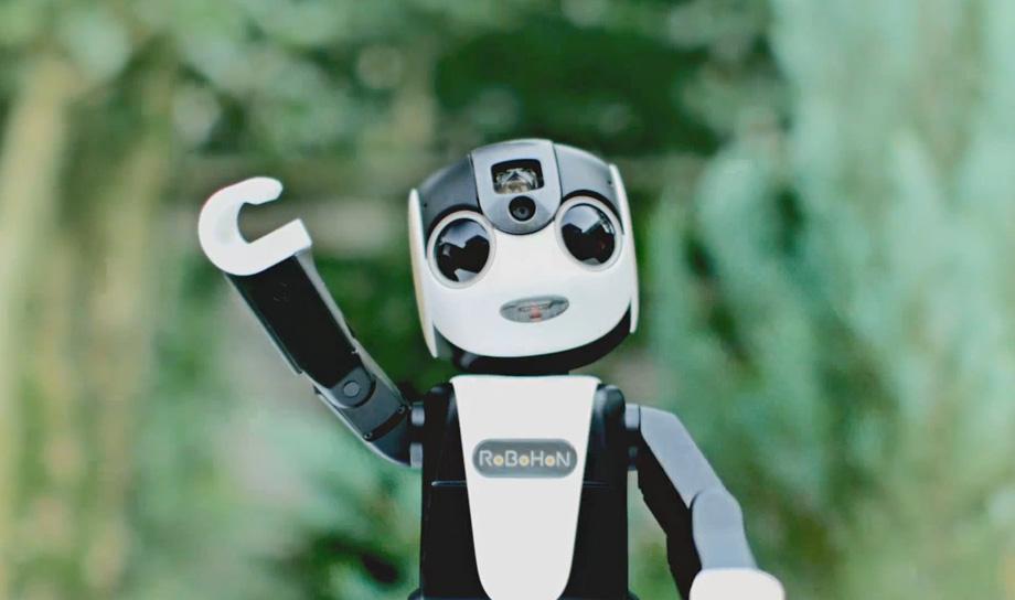 Роботофон — инновационная разработка компании Sharp