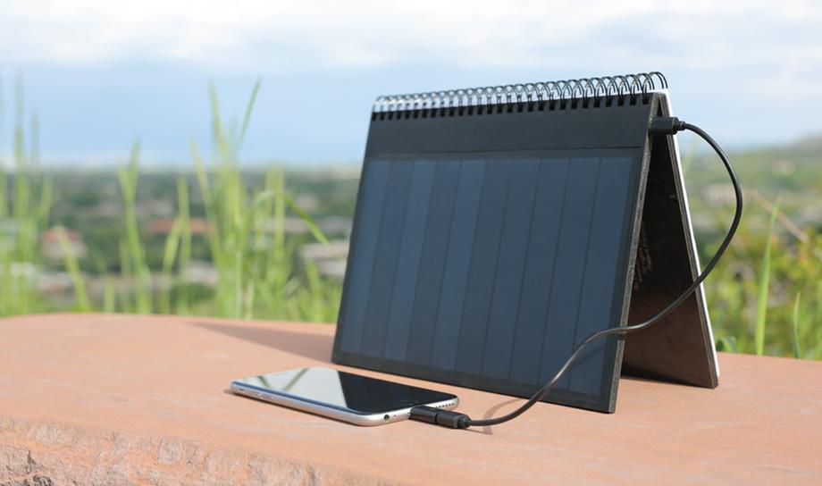 PowerBook — переносная солнечная батарея