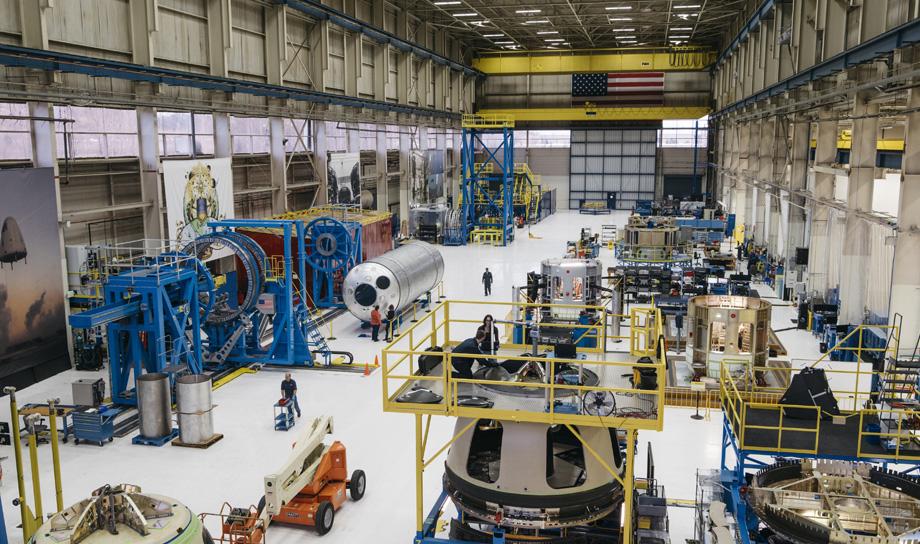 Компания Blue Origin приступила к строительству завода для производства ракет