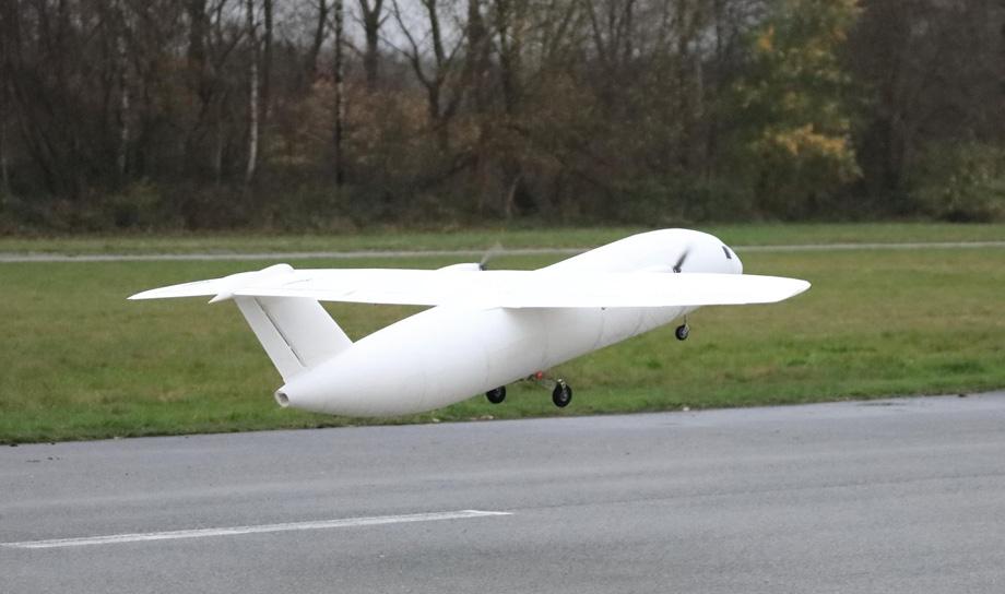 THOR — летающая модель самолёта, полностью распечатанная на 3D принтере
