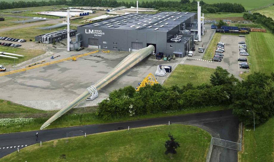 В Дании завершается производство наибольшего в мире ветрогенератора