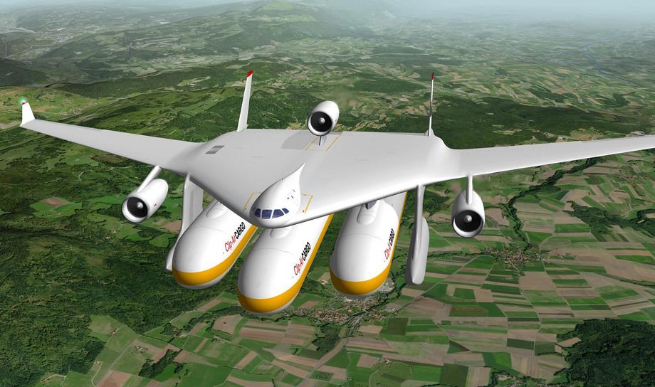 Clip-Air — революционные модульные самолёты