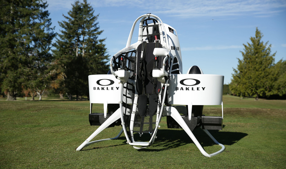 Для игроков в гольф создан реактивный ранец