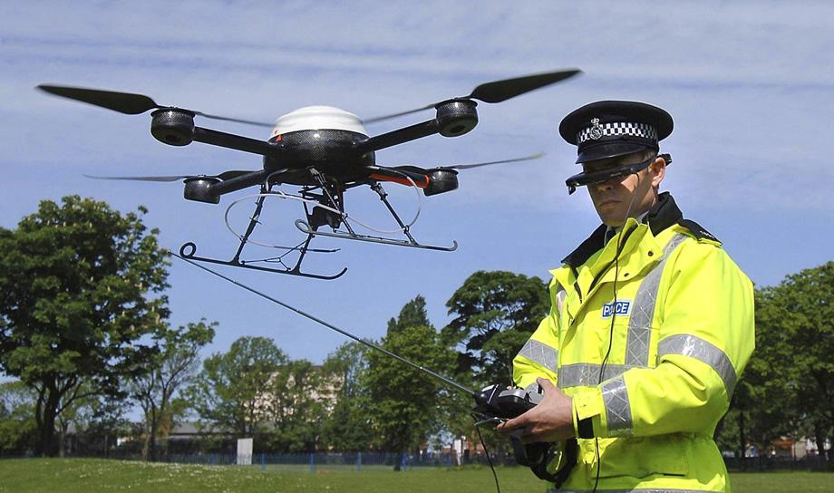 Скоро на улицах Лондона появятся дроны-полицейские