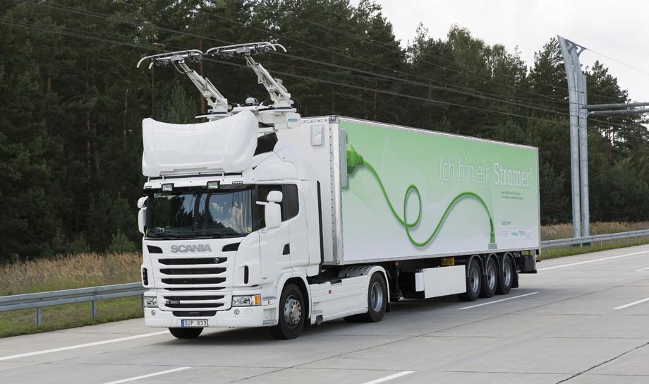 В Швеции тестируются электродороги