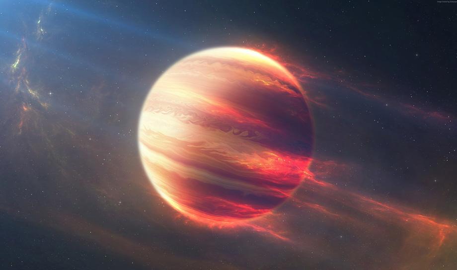 Астрономы открыли планету, вращающуюся с невероятной скоростью