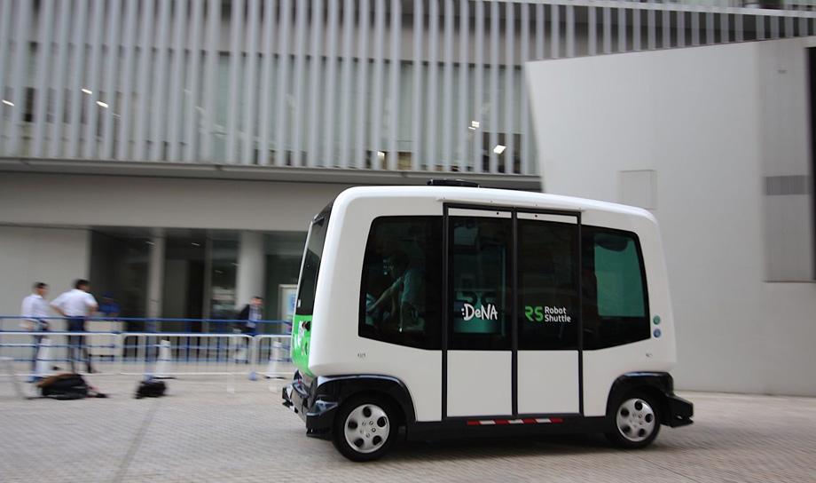 В августе в Японии появится беспилотный автобус для перевозки пассажиров