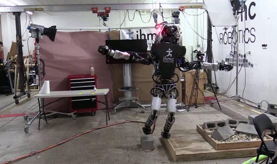 Новая способность робота-гуманоида Atlas