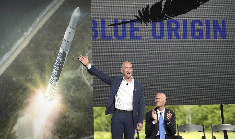 Blue Origin разрабатывает ракету-носитель New Glenn высотой 95 м