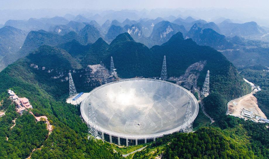 Введён в действие самый крупный в мире радиотелескоп