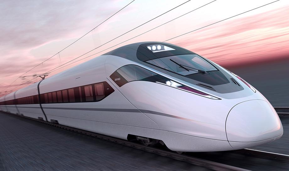 Первый рейс самого быстрого в мире серийного пассажирского поезда