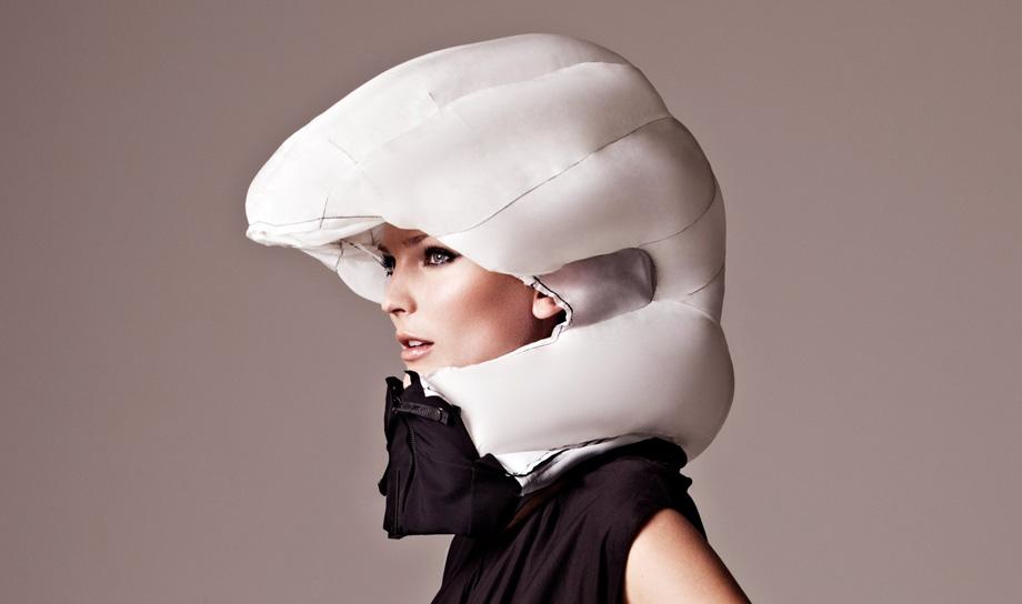 Hovding — шлем-воздушная подушка для велосипедистов