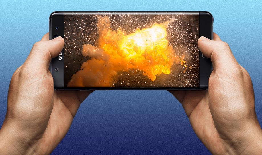 Samsung удалённо отключит свои взрывоопасные Galaxy Note 7