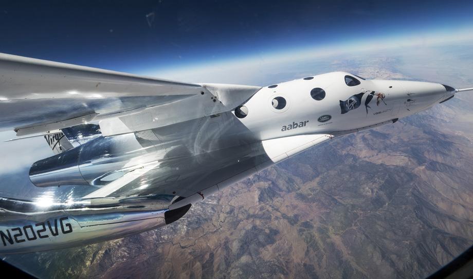 Virgin Galactic провела первые испытания своего нового космического корабля