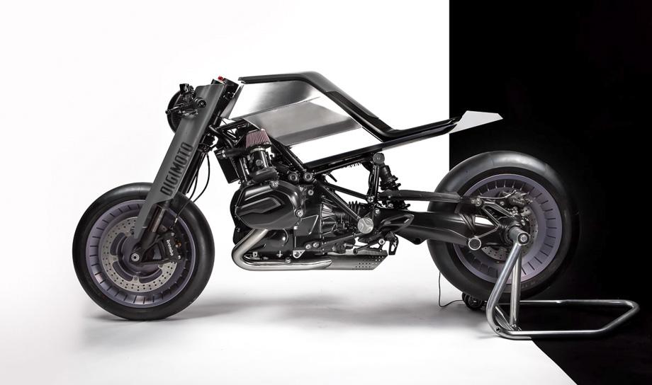 Digimoto — мотоцикл, созданный при помощи виртуальной реальности