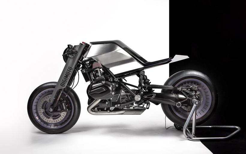 Digimoto – мотоцикл, созданный при помощи виртуальной реальности