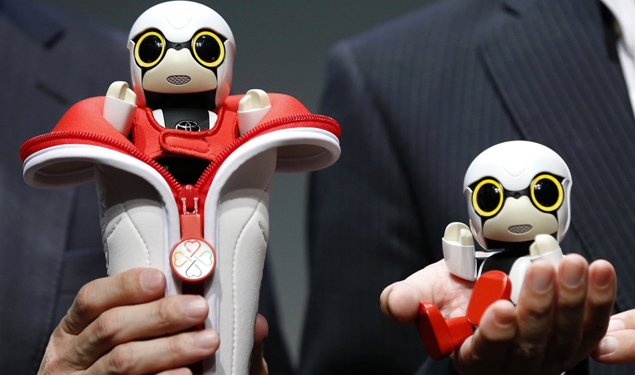 Японцы создали робота-ребёнка