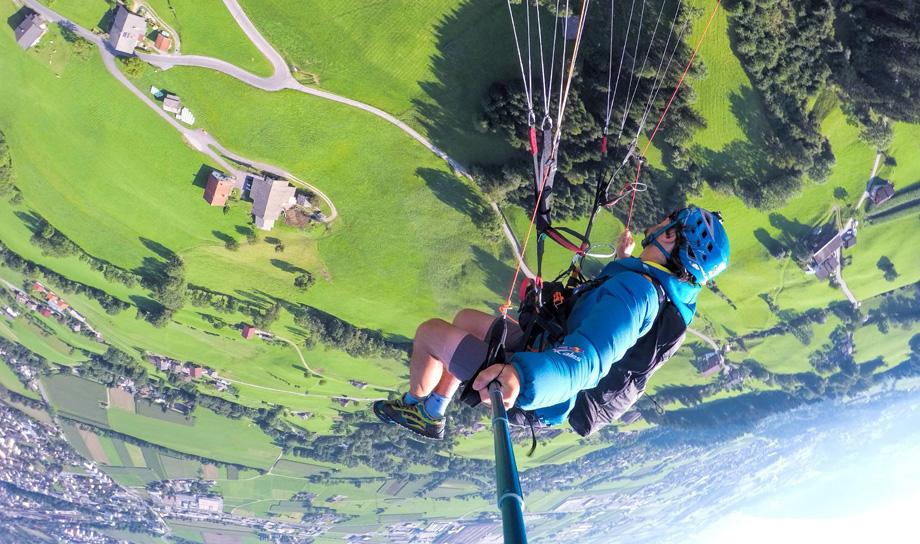GoPro: захватывающий спидглайдинг от Джейми Ли