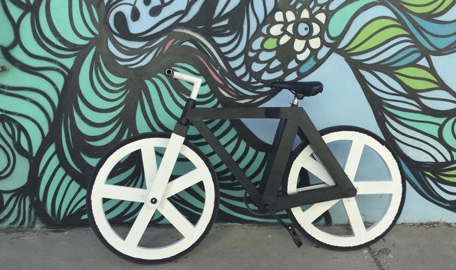 Urban GC1 — велосипед из переработанной бумаги