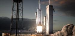 SpaceX испытала усиленный центральный блок первой ступени ракеты-носителя тяжёлого класса Falcon Heavy