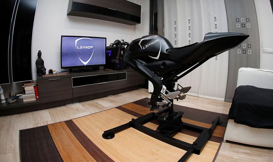 LeanGP — станет первым сборным мотоциклетным симулятором